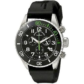 Zeno-watch mens watch Diver Chrono en céramique vert 6492-5030Q-a1-8
