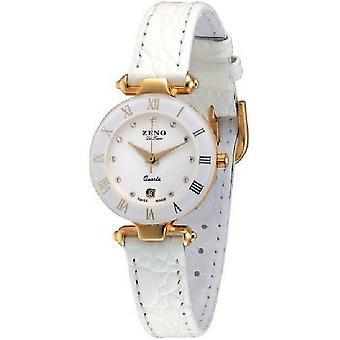 Zeno-Watch Damenuhr Fashion CP white 5300Q-Pgg-s2
