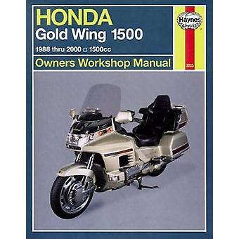 Honda GL 1500 Gold Wing Owners Workshop Manual - 1988-2000 (2nd Revise
