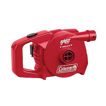 Coleman 4D QuickPump Battery Powered Airbed Pump Red