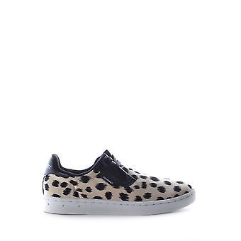 Gourmet Leopard Fabric Sneakers
