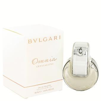 OMNIA CRYSTALLINE by Bvlgari Eau De Toilette Spray 1.3 oz / 38 ml (Women)
