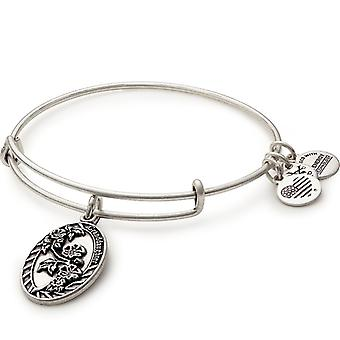 Alex en Ani kleindochter charme Zilveren Bangle A16EB63RS