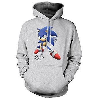 Mens Hoodie - Sonic der Igel - Spieler