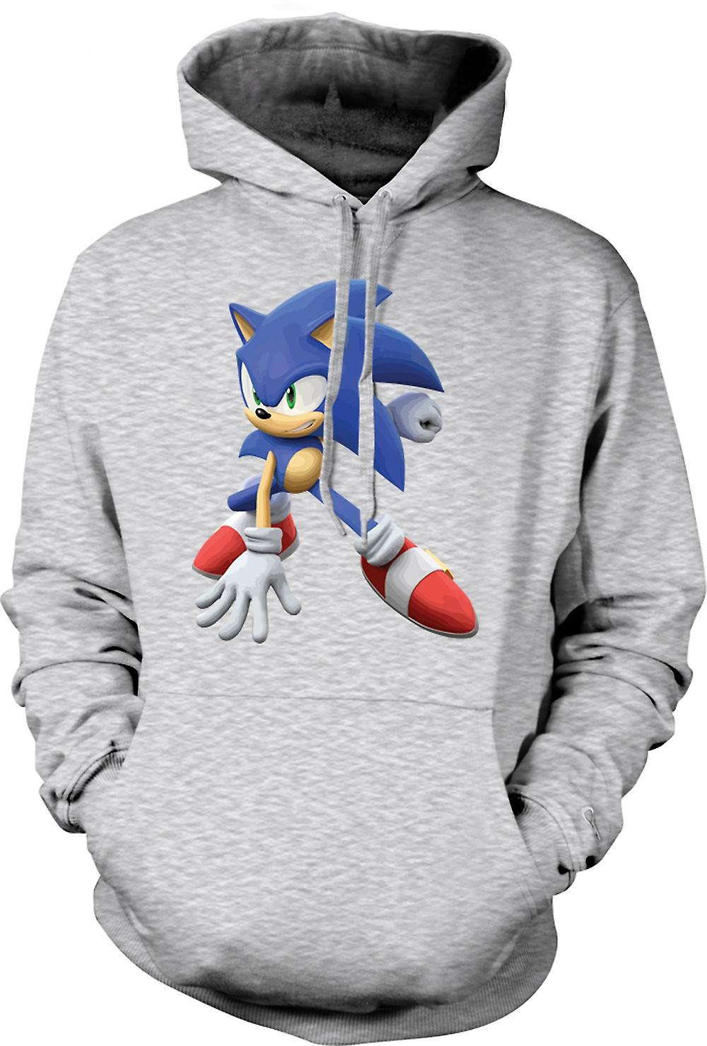 Mens hettegenser - Sonic The Hedgehog - spiller