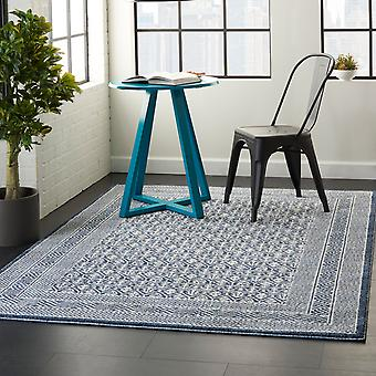 Palermo PMR01 Blau grau Rechteck Teppiche Plain/Fast einfache Teppiche