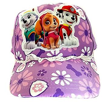 Baseballpet-paw Patrol-paarse bloemen jeugd/Kids grootte hoed 156705