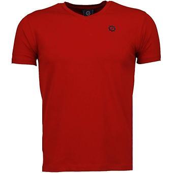 Basic Exclusive-T-shirt-röd
