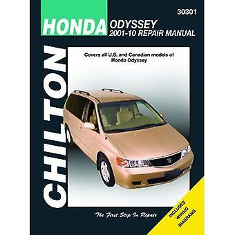 Chilton Total Car Care Honda Odyssey 2001-2010 Repair Manual