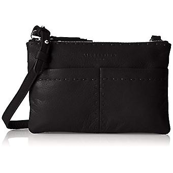 Liebeskind Berlin Greensboro Heasti - Donna Schwarz shoulder bags (Oil Black) 4x15x23 cm (L x H D)