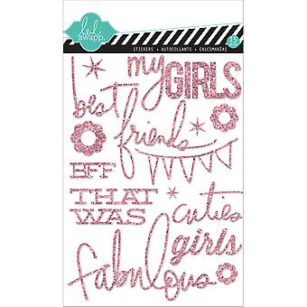 Heidi Swapp Mixed Media Glitter Stickers 5