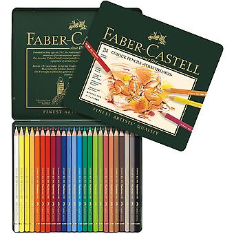 Polychromos Colored Pencil Set In Metal Tin 24pc- 110024