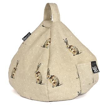 iBeani iPad, Tablet & eReader Bean Bag Stand / Cushion - Hartley Hare