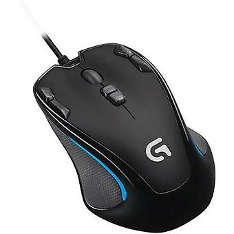 USB gaming mouse Optical Logitech G G300s Built-in user memory