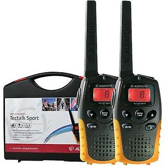PMR handheld transceiver Albrecht 29865 2-piece set
