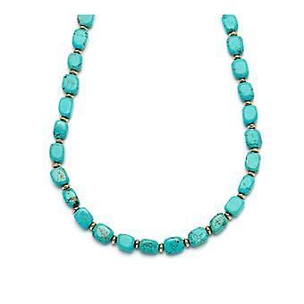 Lola Rose Islington halskæde naturlige blå magnesit