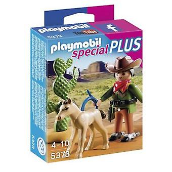 Playmobil 5373 Cow-boy avec poulain
