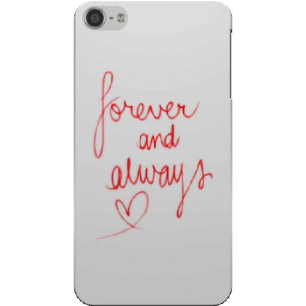 Capa forever and always para iPod Touch 5/6