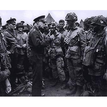 O General Dwight D Eisenhower com fotografia de esportes 101 Airbourne (#2) (10 x 8)