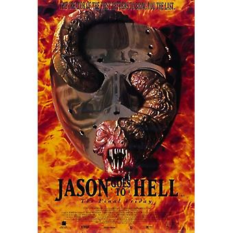 Jason Goes to Hell the Final Friday Movie Poster (11 x 17)