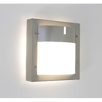 Wall lamp outdoor lamp Toja 24x24cm IP44 stainless steel E27