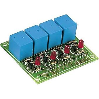 Relay card Assembly kit Velleman K2633 9 Vdc