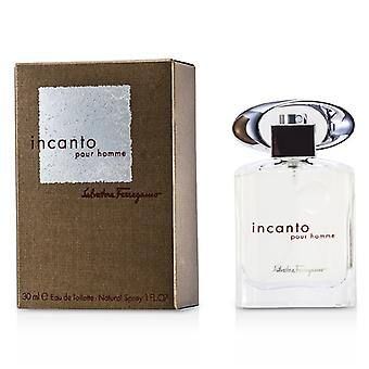 Salvatore Ferragamo Incanto Eau De Toilette Spray 30ml / 1oz