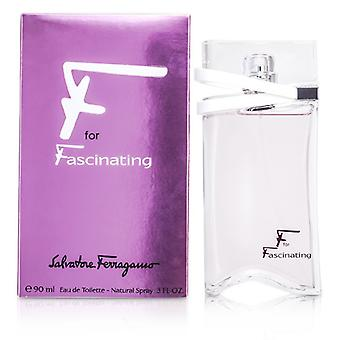 Salvatore Ferragamo F für faszinierende Eau De Toilette Spray 90ml / 3oz