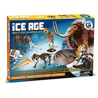 Geoworld Kit Multiexcavacion Ice Age