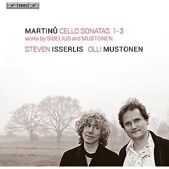 Martinu / Mustonen / Sibelius - Martinu / Sibelius / Mustonen [SACD] USA import