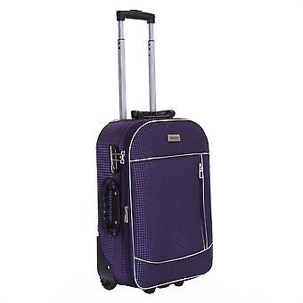 Slimbridge Rennes Cabin 55 cm Expandable Suitcase, Plum