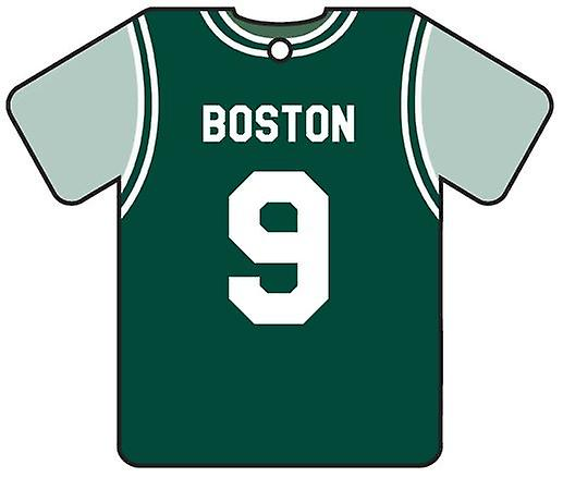 Personalised Boston Celtics Basketball Car Air Freshener
