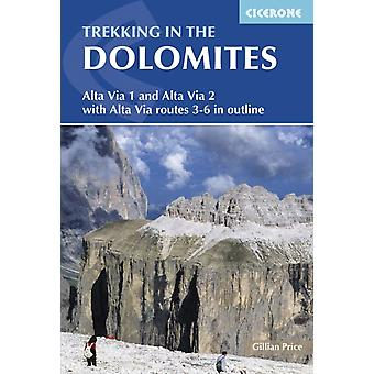 Trekking in the Dolomites (Cicerone Trekking Guides) (Cicerone Guides) (Paperback) by Price Gillian