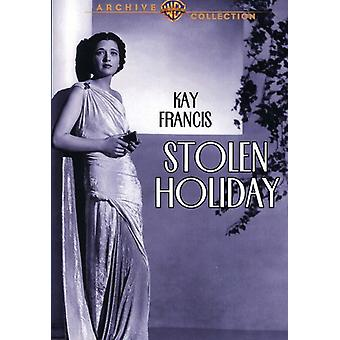 Stolen Holiday (1937) [DVD] USA import