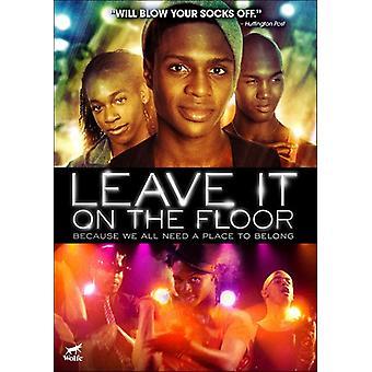 Efterlad det på gulvet [DVD] USA importen