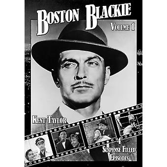 Boston Blackie 01 [DVD] USA importerer