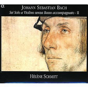 J.S. Bach - Bach: Sei Solo en Violino Senza Basso Accompagnato, Vol. 2 [CD] USA import