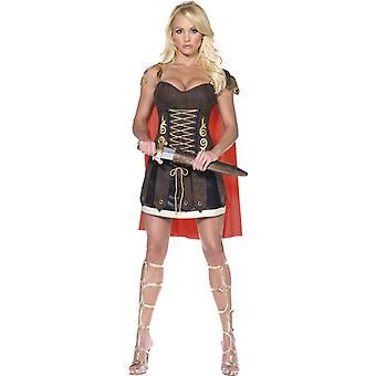 ローマの剣闘士の衣装セクシーな Xena アマゾン運動女性