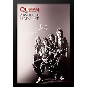 Queen 'Absolute Greatness' Signed Poster