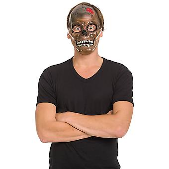 Crâne crâne squelette crâne transparent code Masque Halloween