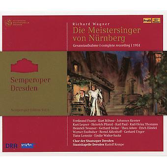 Wagner / Dresden / Chor Der Staatsoper - Die Meistersinger [CD] USA import