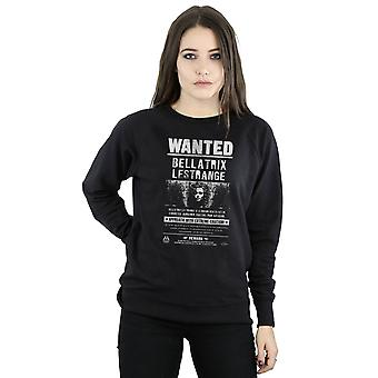 Harry Potter Women's Bellatrix Lestrange Wanted Sweatshirt