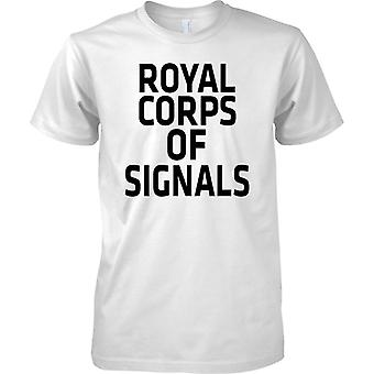 Licensed MOD -  British Army Royal Signals - Text - Kids T Shirt