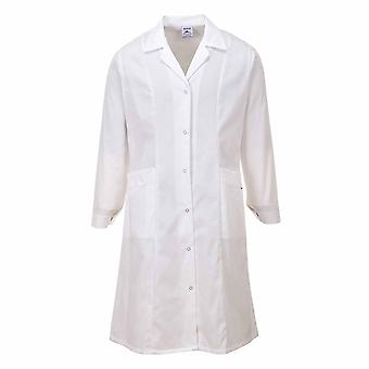 sUw - LadiesWorkwear Princess Line Lab-Medical-Food Prep Coat