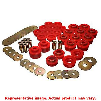 Energy Suspension Body Mount Set 3.4141R Red Fits:BUICK 1982 - 1982 REGAL SPORT