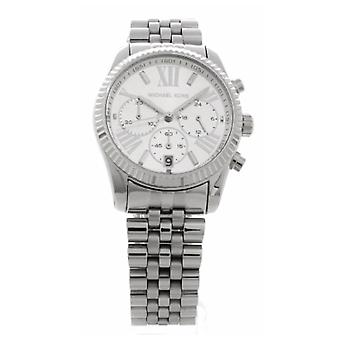 Michael Kors Watches Ladies Chronograph Silver Watch Mk5555