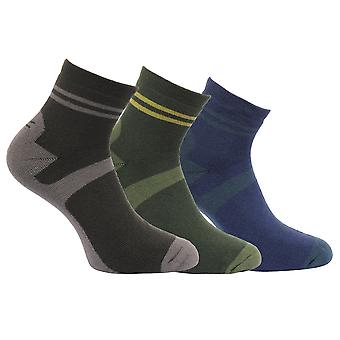 Regatta Great Outdoors Mens Active Lifestyle Walking Socks (Pack Of 3)