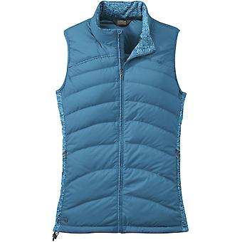 **SALE**Outdoor Research Womens PLaza Down Vest Oasis (UK Size 10)