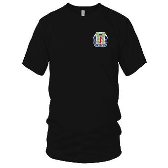 US Army - 10th Military Police Battalion Embroidered Patch - Ladies T Shirt