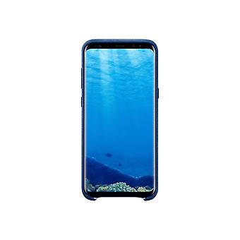 Samsung Alcantara Cover EF-XG955-Cover for mobile phone-alcantara-blue-for Galaxy S8 +